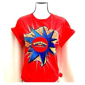 Wonder Woman MAC cosmetics promo T-shirt 4 for sale